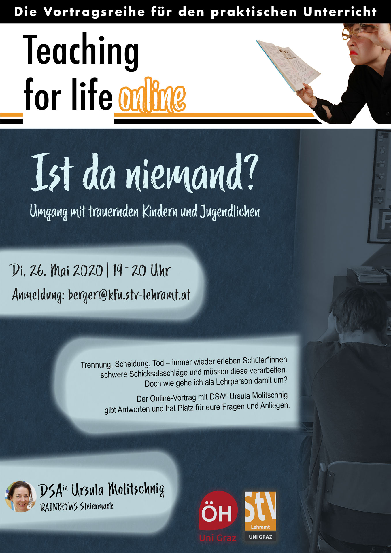 Ist da niemand (Teaching for life)